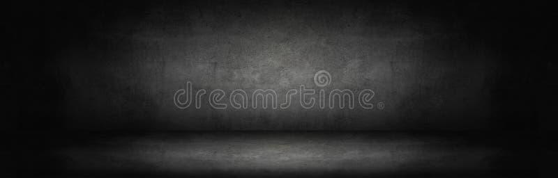 pared abstracta oscura y gris del cemento fotografía de archivo