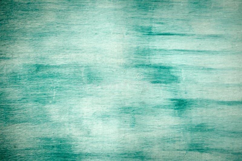 Pared agrietada dañada vieja de la pintura, fondo del Grunge, color de la turquesa fotografía de archivo libre de regalías