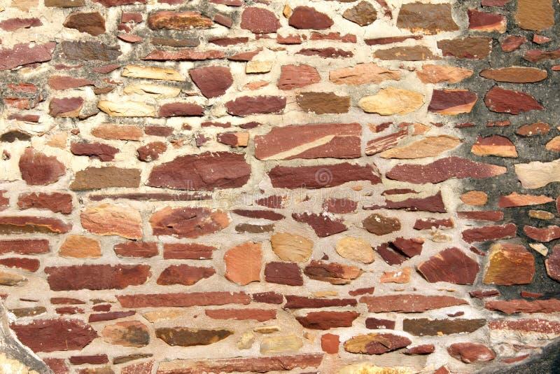 Pared antigua de los bloques de piedra imagen de archivo