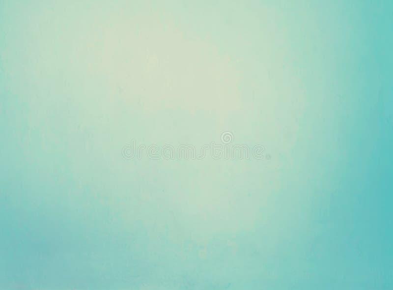 Pared azul clara vacía imagen de archivo libre de regalías