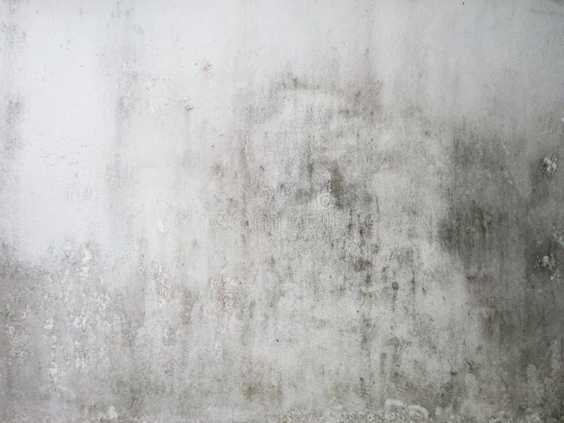 Pared blanca sucia imagen de archivo libre de regalías