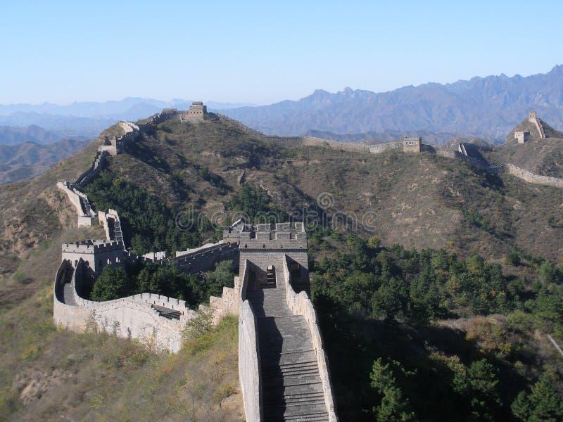 Pared china fotografía de archivo