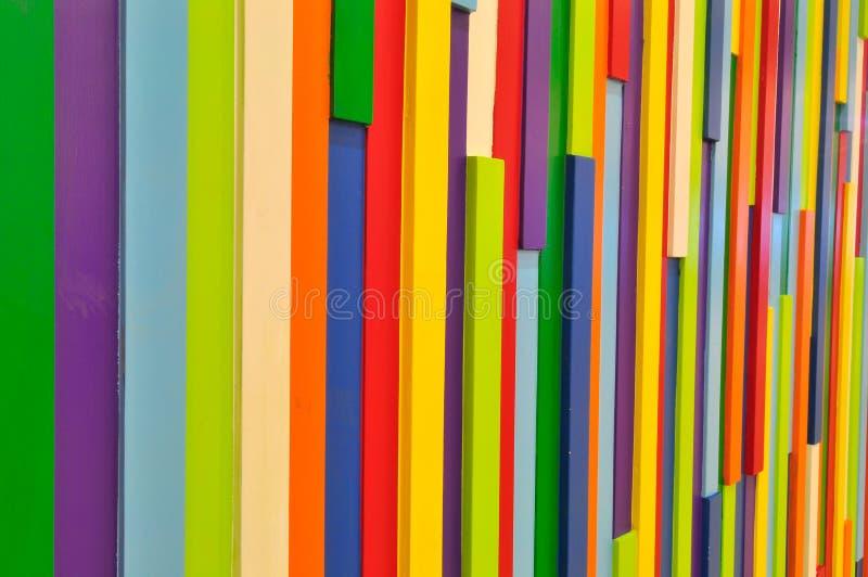 Pared colorida imágenes de archivo libres de regalías