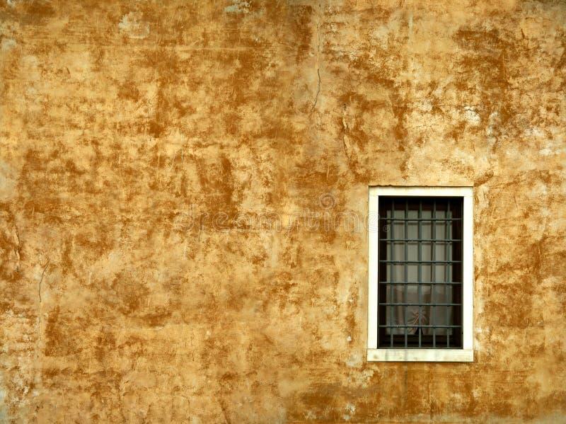 Pared colorida de una casa en Venecia fotos de archivo libres de regalías