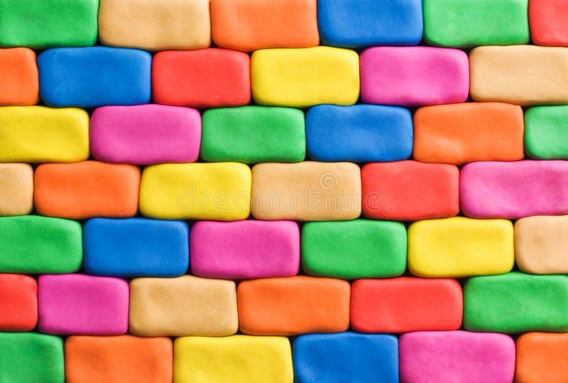 Pared colorida del fondo imagen de archivo libre de regalías