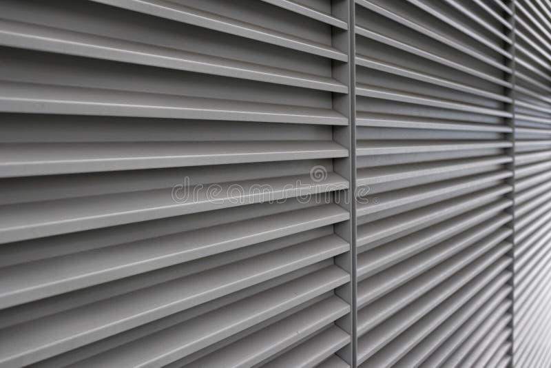 Pared con las lineas horizontales en perspectiva imagenes de archivo
