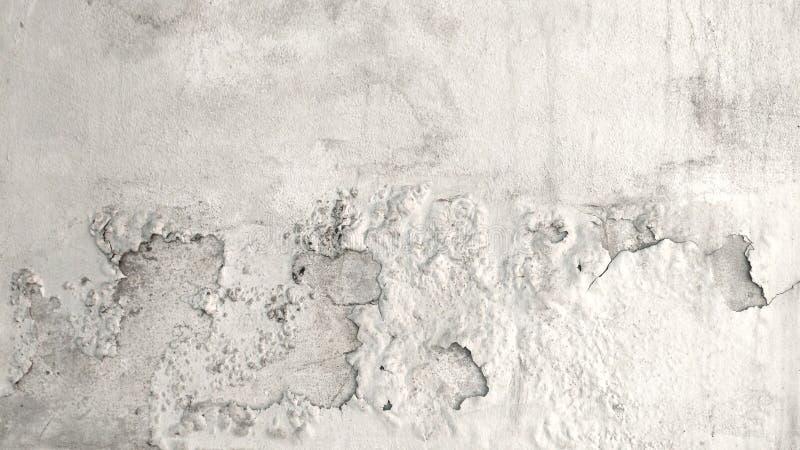Pared concreta del cemento del Grunge con la grieta imagen de archivo libre de regalías