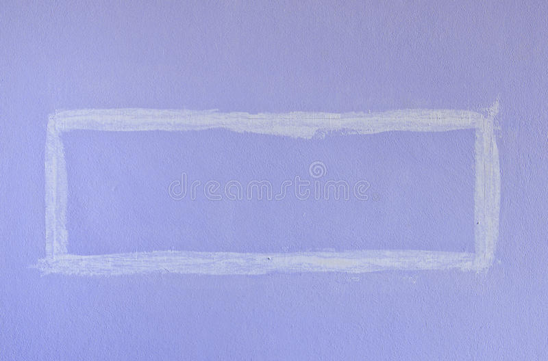 Pared cuadrada púrpura de la pintura foto de archivo libre de regalías