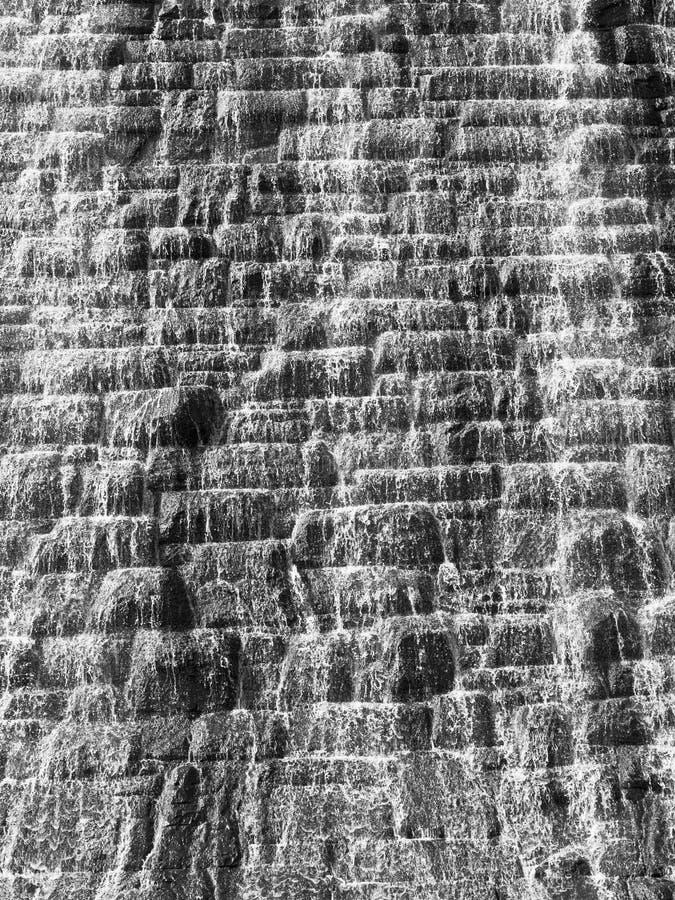 Pared de agua abstracta fotografía de archivo