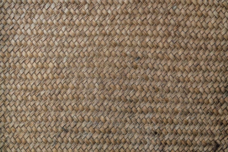 Pared de bambú vieja de la armadura foto de archivo