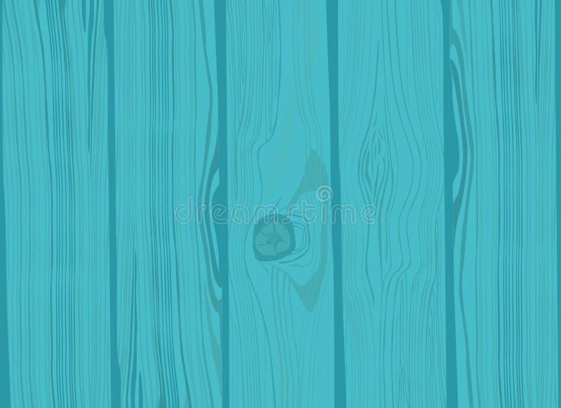 Pared de Brown, tablón, tabla o superficie de madera del piso ilustración del vector
