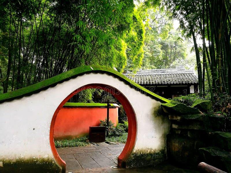 Pared de Chengdu imágenes de archivo libres de regalías