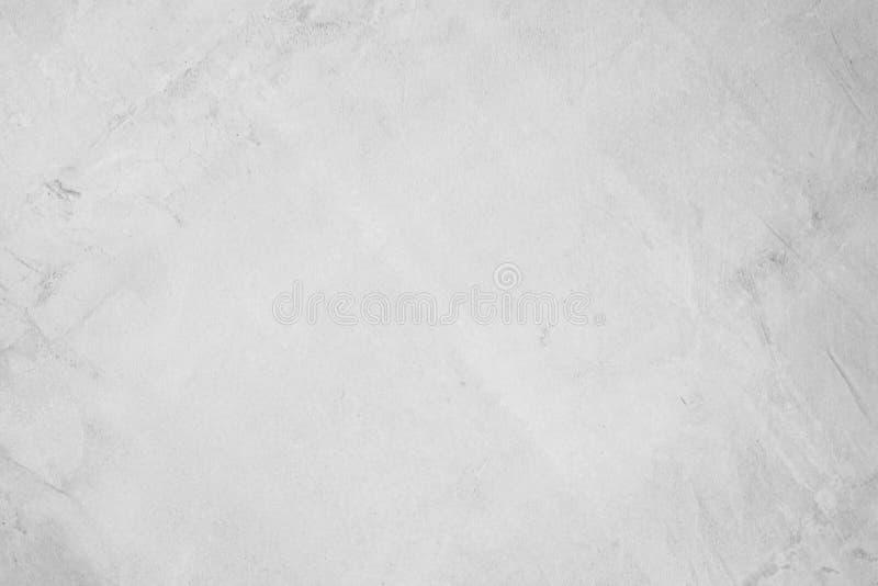 Pared de hormigón blanco para interiores o hormigón exterior pulido El cemento tiene arena y piedra de tono vintage, imagen de archivo libre de regalías