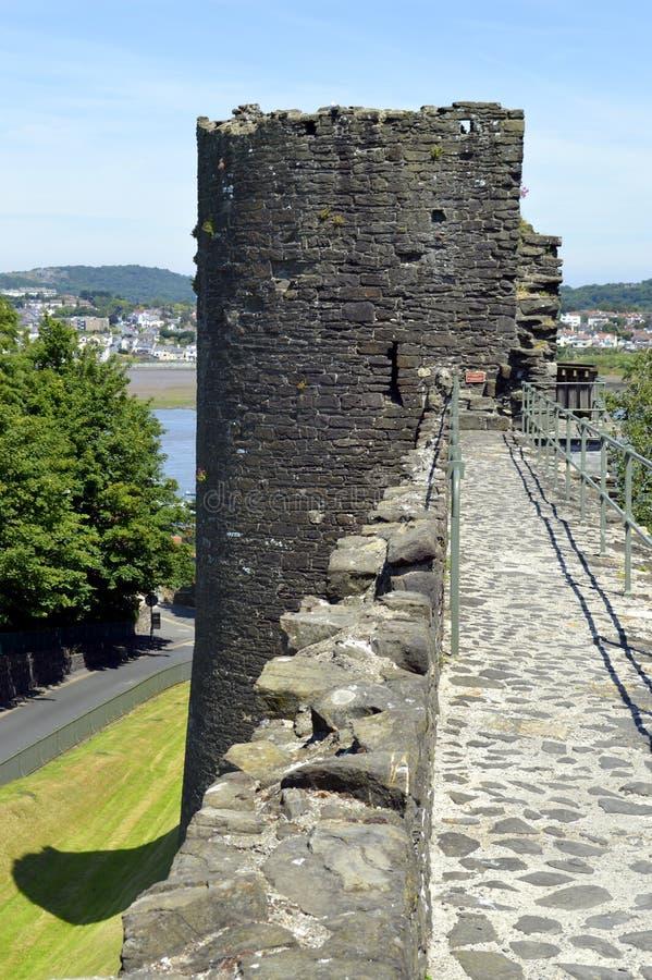 Download Pared De La Ciudad De Conwy Foto de archivo - Imagen de north, piedra: 41910306