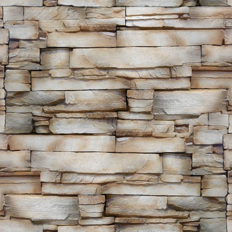 Pared de la piedra arenisca - modelo decorativo - fondo inconsútil fotos de archivo