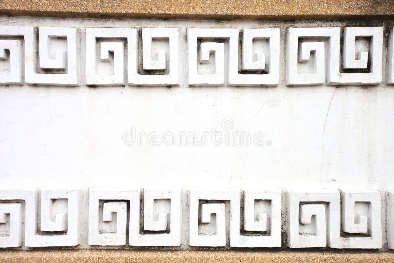 Pared de la textura del estilo chino imágenes de archivo libres de regalías