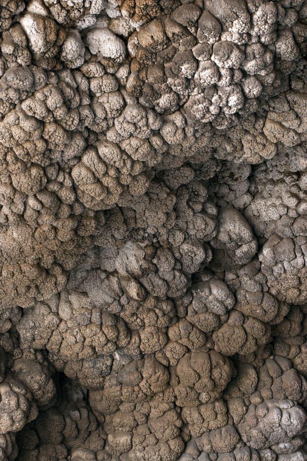 Pared de la toba volcánica imagen de archivo