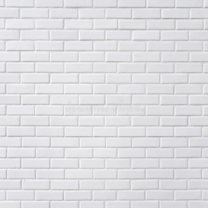 Pared de ladrillo blanca imagen de archivo