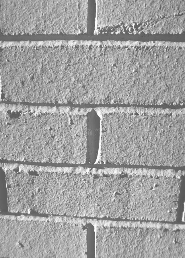 Pared de ladrillo blanca texturizada foto de archivo libre de regalías