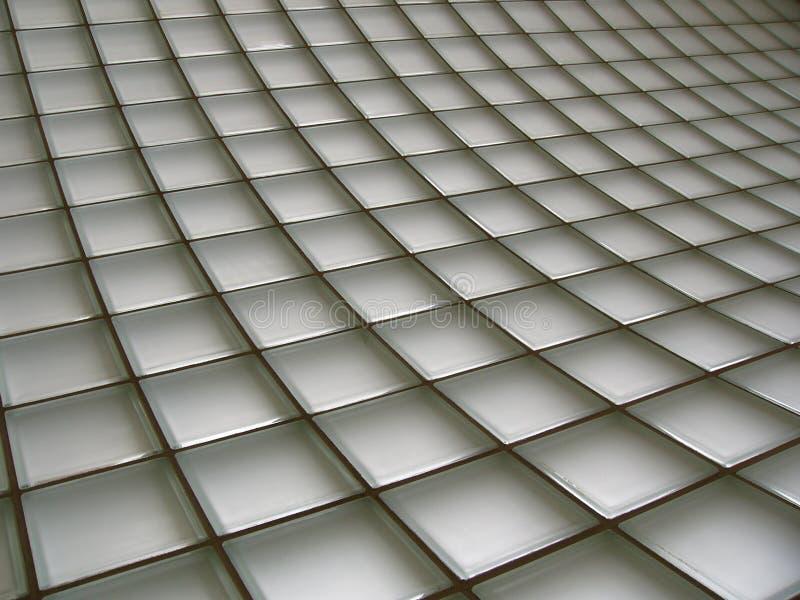 Pared de ladrillo de cristal foto de archivo
