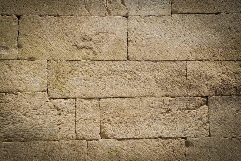 Pared de ladrillo de piedra fotos de archivo