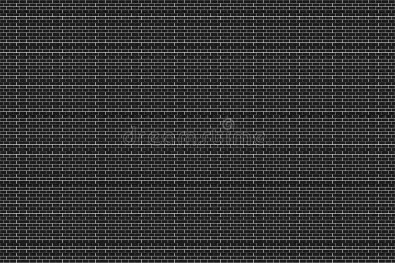 Pared de ladrillo en oscuro o negro con el bw o blanco y negro entonado imagenes de archivo