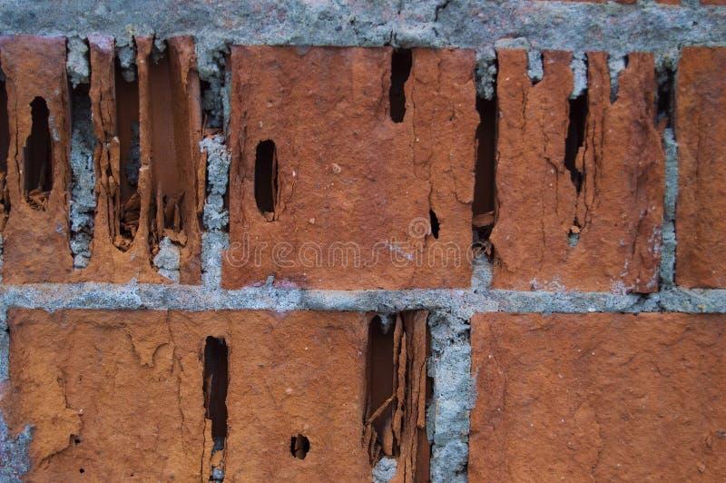 Pared de ladrillo vieja horizontal fotografía de archivo libre de regalías
