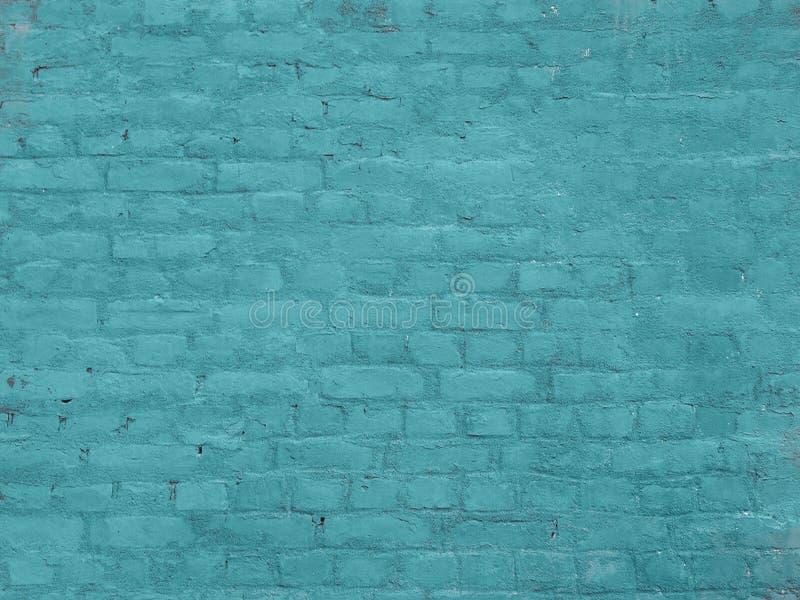 Pared de ladrillo vieja pintada fotos de archivo