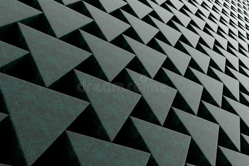 Pared de las prismas de piedra libre illustration