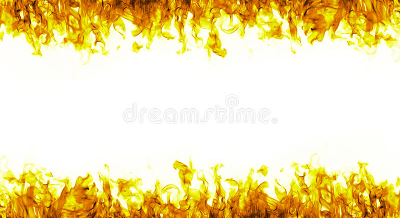 Pared de llamas foto de archivo