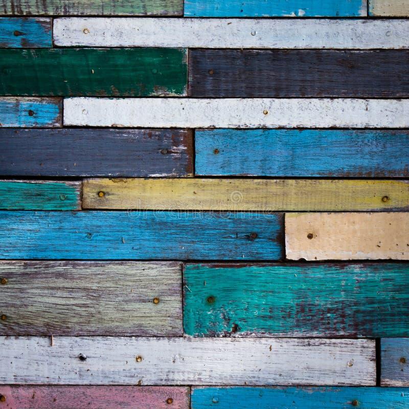 Pared de madera fotos de archivo