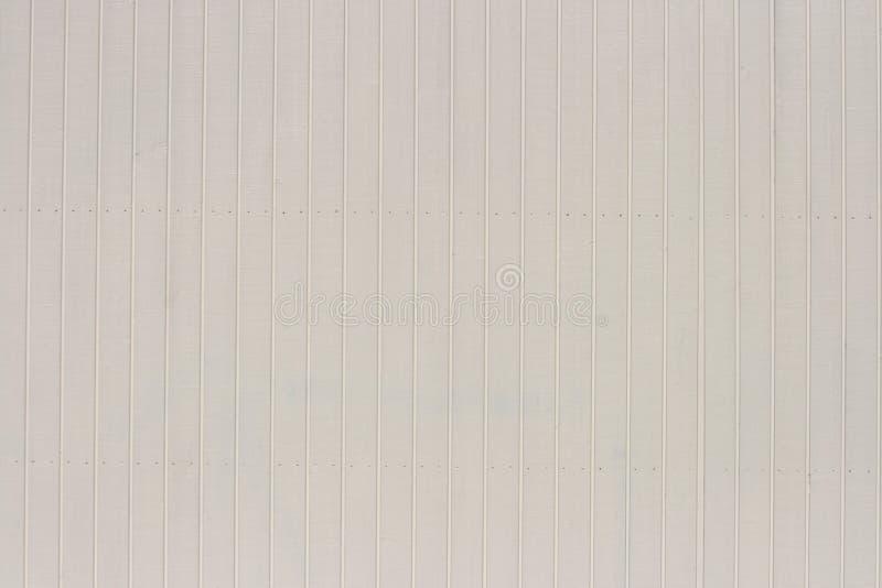 Pared de madera blanca fotografía de archivo libre de regalías