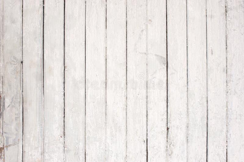 Pared de madera blanca con la pintura vieja foto de - Pintura blanca para madera ...