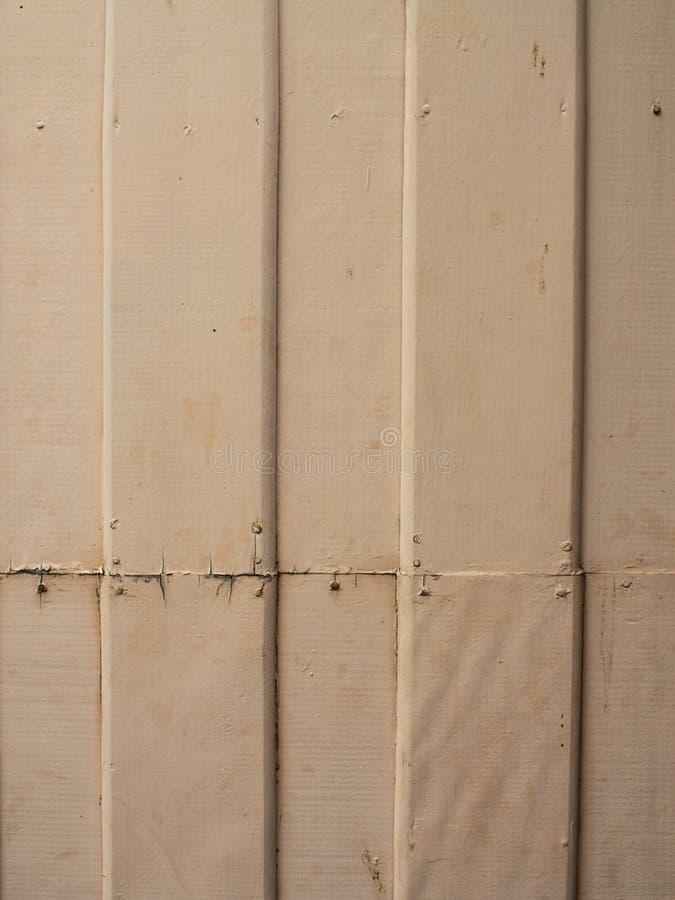 Pared de madera blanca vieja fotografía de archivo