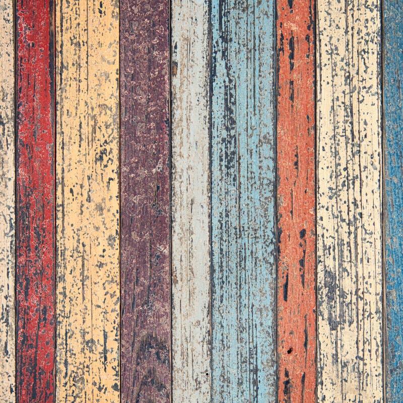 Pared de madera del vintage para el texto y el fondo fotografía de archivo