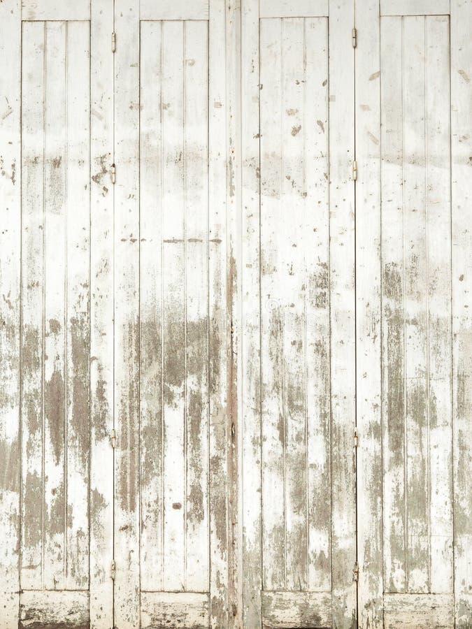 Pared de madera en el parque foto de archivo libre de regalías