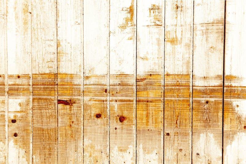 Pared de madera manchada vintage foto de archivo libre de regalías