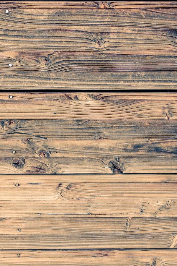 Pared de madera manchada vintage fotografía de archivo libre de regalías