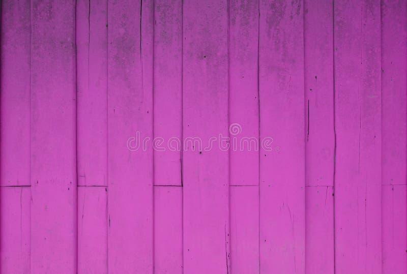 Pared de madera rosada del Grunge imagen de archivo libre de regalías