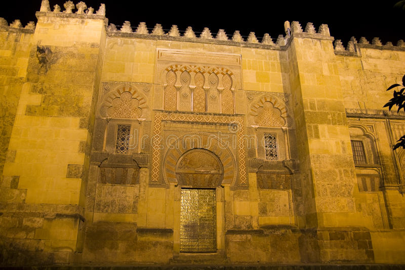 Pared de Mezquita. Córdoba, España. fotografía de archivo