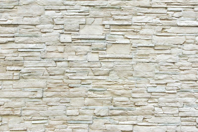 Pared de piedra artificial blanca imagen de archivo - Pared de piedra artificial ...