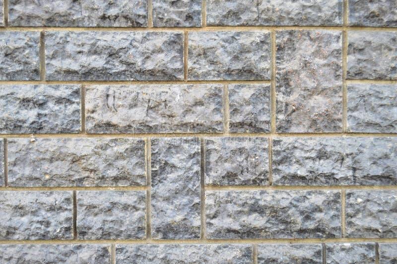 Pared de piedra azul del corte de multa Edificio, arcilla fotos de archivo