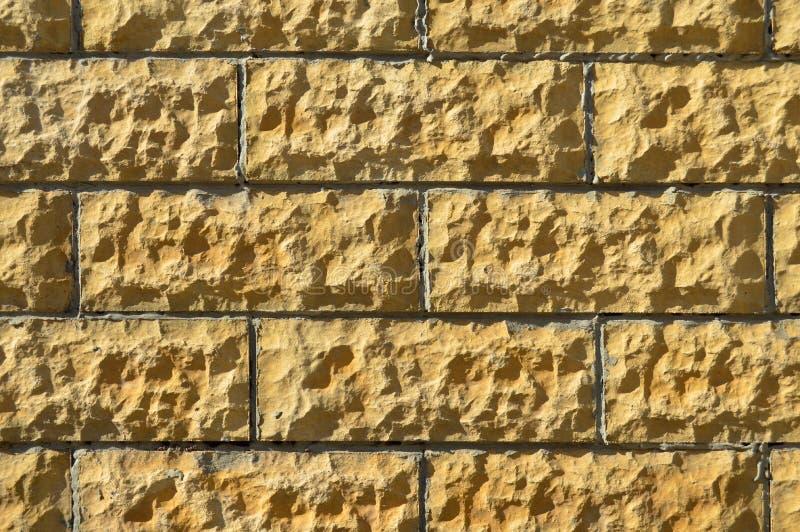 Pared de piedra beige del corte de multa Fondo, textura fotos de archivo