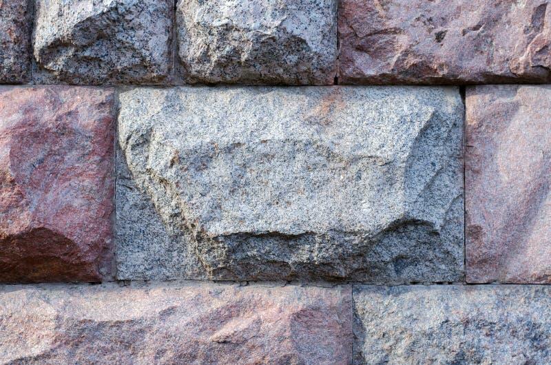 Pared de piedra de bloques grandes, fondo, serie de la textura imagenes de archivo
