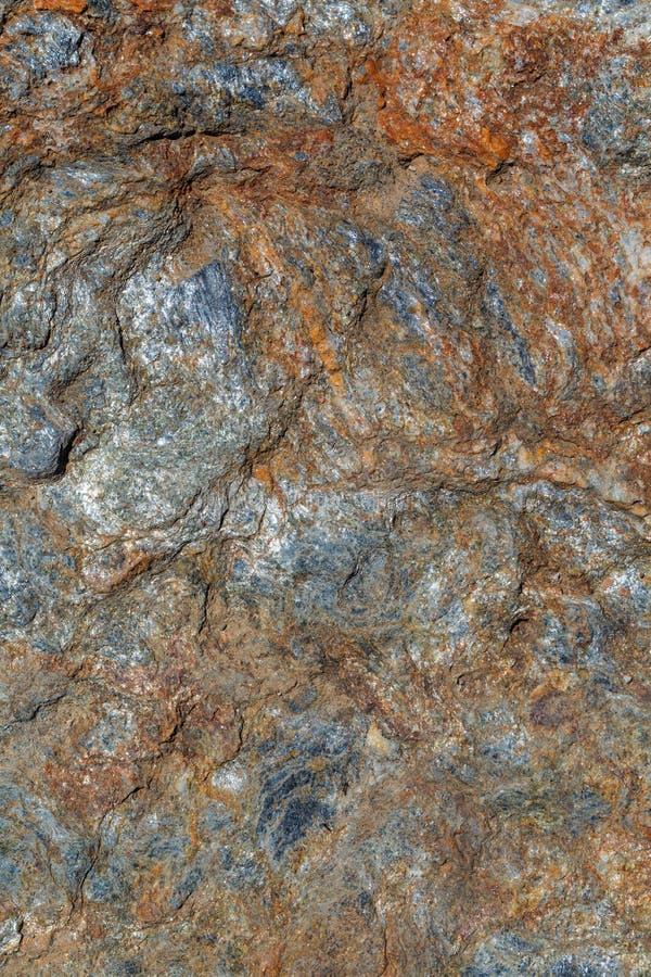 Pared de piedra de la roca del fondo mineral natural de la textura fotos de archivo