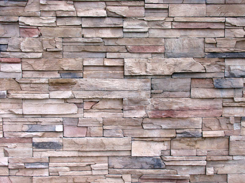Pared de piedra decorativa multi entonada imagen de - Paredes de piedra decorativa ...