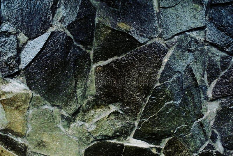 pared de piedra del fondo fotos de archivo libres de regalías