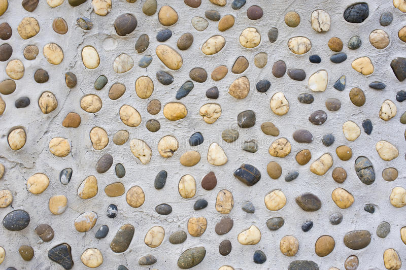 Pared de piedra del río imágenes de archivo libres de regalías