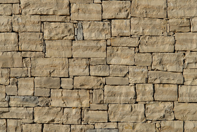 Pared de piedra en Croatia foto de archivo