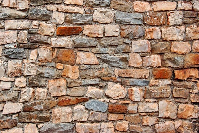Pared de piedra natural imagenes de archivo
